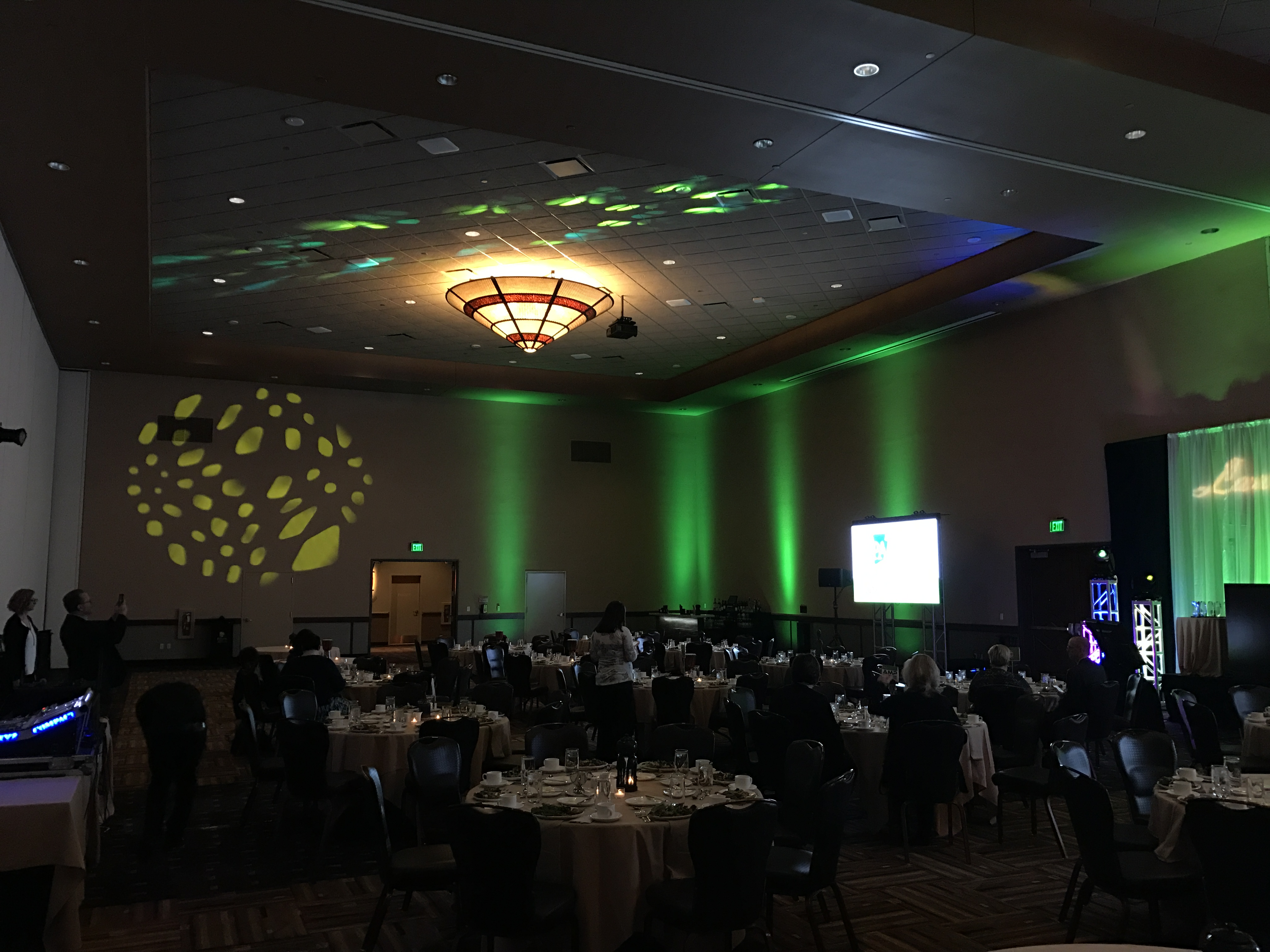 PASAE 2016 Laurel Awards Room Setup