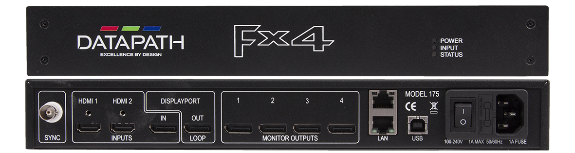 Datapath FX4 Fly Pack