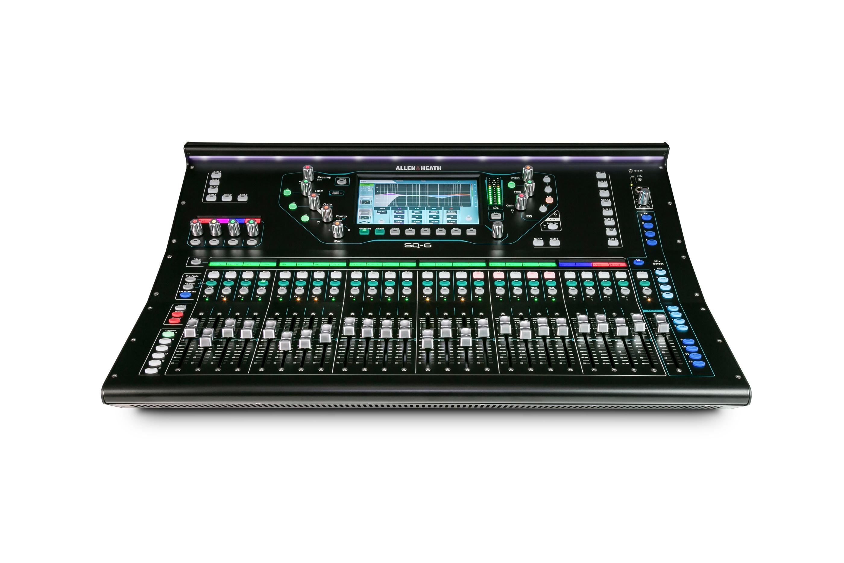 Allen & Heath SQ-6 48 Channel Digital Audio Mixer