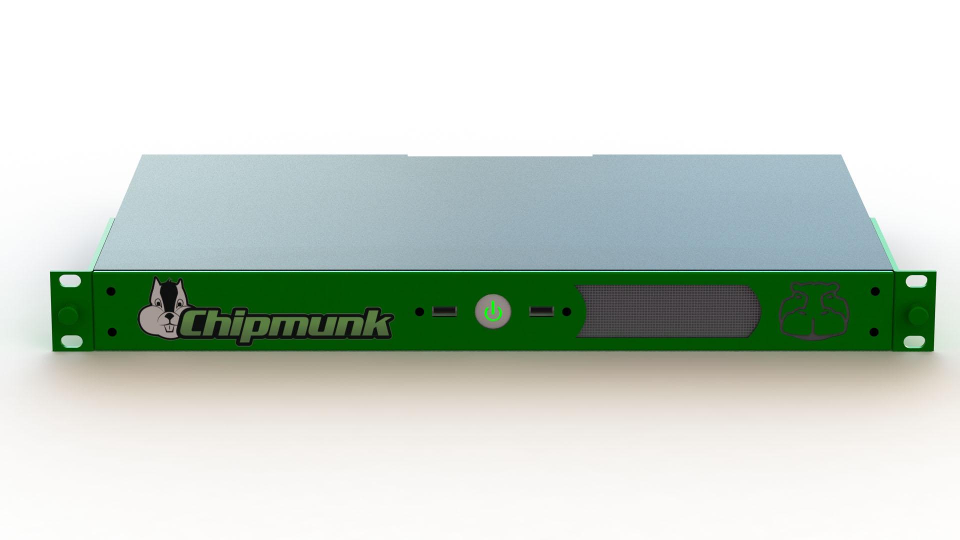 Green Hippo Chipmunk HD V3 Hippotizer Media Server