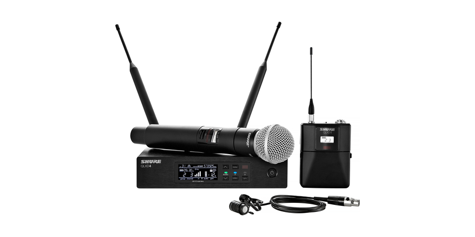 Shure QLX-D Digital Wireless Mic System