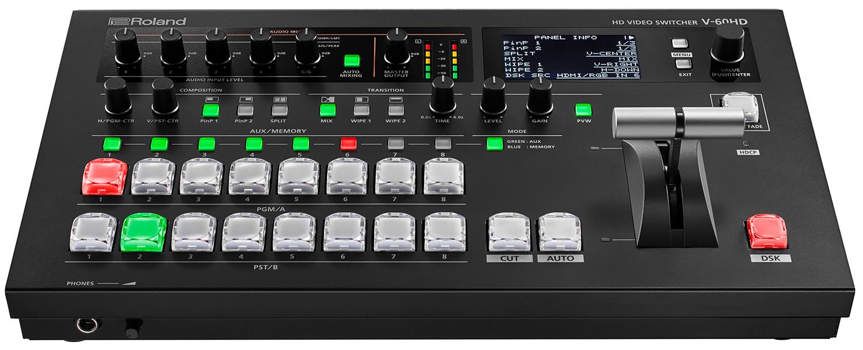Roland V-60HD Multi-Format HD Live Event Switcher